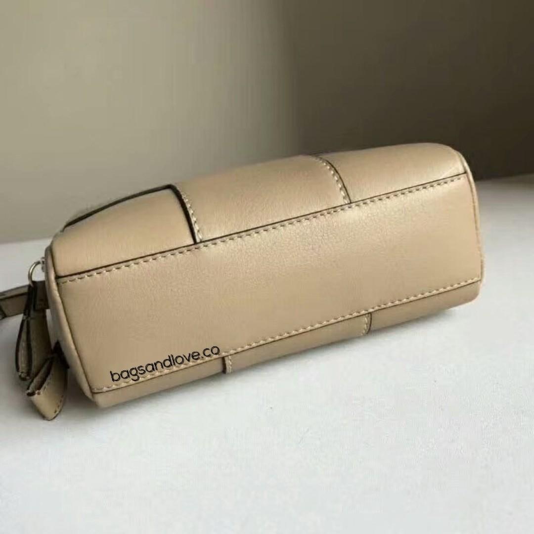 7d720f42e225 Tory Burch Block T Pebbled Double Zip Crossbody Bag