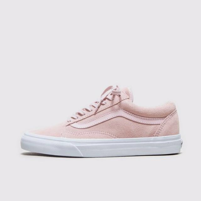 c05b551a06c2 Vans Pink Suede Shoes