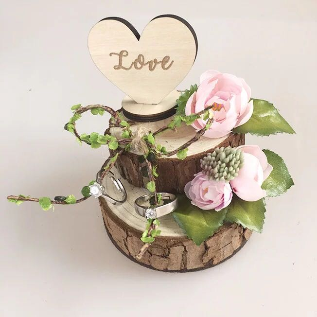 Wedding Rom Ring Holder Design Craft Handmade Craft On