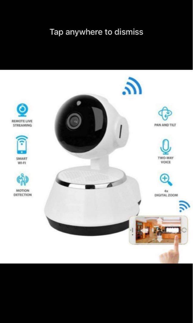 6118e5f1f42 Wireless P2P IP Camera WIFI Cctv Home Security V380 Camera ...