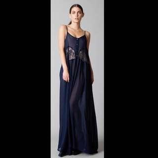 Blak by Teresa Hodges size 8 Sheer Dress