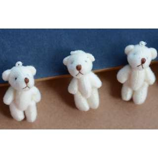 New beige colour mini bears for crafting works 2 for $3 Free Postage
