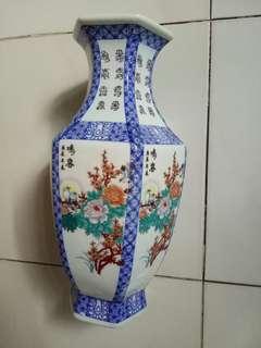 Exquisite Chinese Antique Porcelain Auspicious Ornament Vase