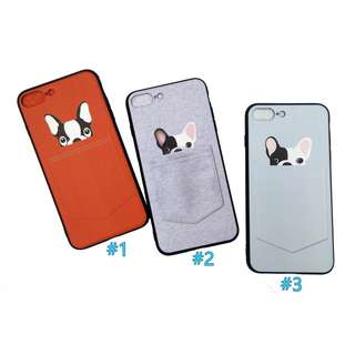 🦄 Cute Pocket Puppy Dog soft iphone 7plus/8plus Case