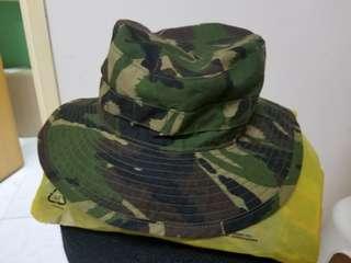 英軍 叢林迷彩叢林帽