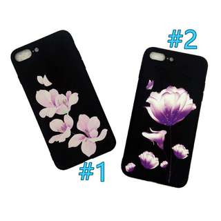 🦄 Purple Flower Floral soft iphone 7plus/8plus Case