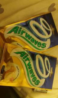 Airwares 香口膠 honey & lemon flavour