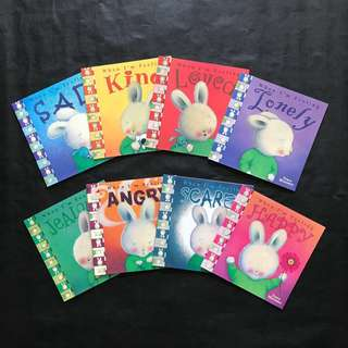 💥 NEW- When I am feeling - Set of 8 books - Children story books