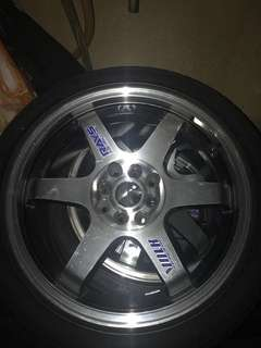 TAYAR MICHELIN & SPORTRIM 1 SET