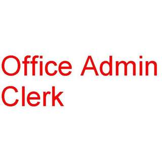 Office Admin Clerk