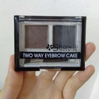Two way eyebrow cake