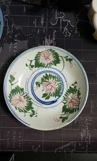 Old Porcelain Plate
