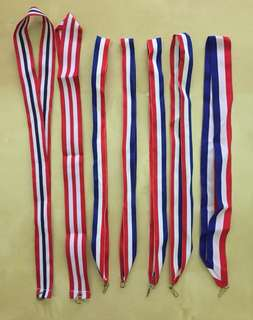 Straps from medals.