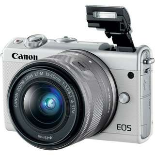 Canon EOS M100 Kit 15-45MM IS STM White