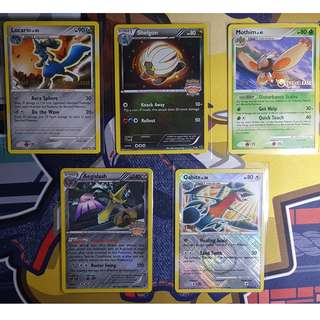 Staff stamped Pokemon Cards pt 2/3