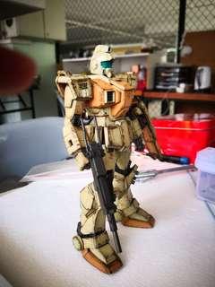 Gundam MG RGM-79 painted
