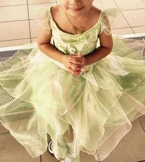 Disney Tinker bell fairy dress