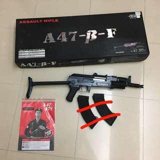 JG Ak Beta Spetnaz , m4 rifle glock G36 mp5