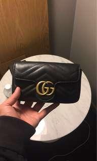 🚚 美國限時代購❤️Gucci GG marmot  super mini 鍊包 小包