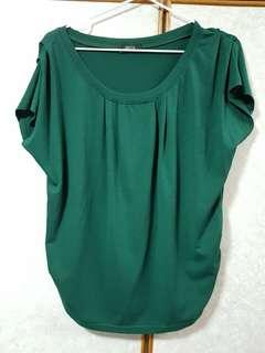 Bega jade green top
