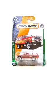 Matchbox Jeep Wagoneer
