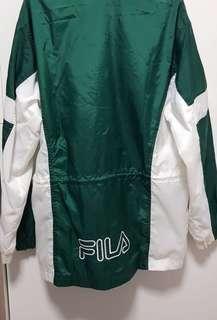 Vintage retro fila windbreaker jacket