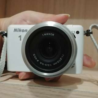 Nikon 1 S1 preloved mirrorless point and shoot camera