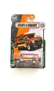 Matchbox '95 Custom Chevy Van