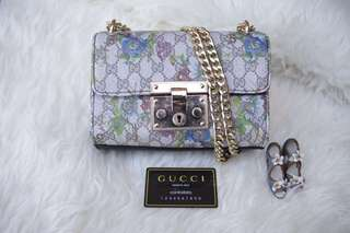Gucci Padlock mini flower