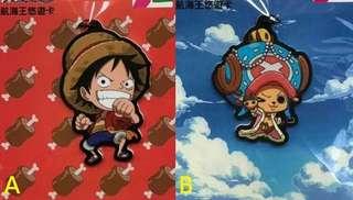 🚚 航海王裁型悠遊卡 喬巴悠遊卡 海賊王造型悠遊卡 單售