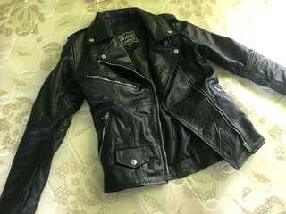 Jaket kulit kanak kanak ( leather jacket for kids )