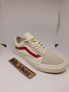 Vans os off white red