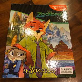 Zootopia my busy books