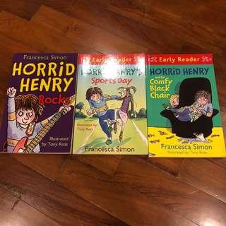 Brand New Horrid Henry storybooks - bundle of 3