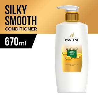 Pantene Smooth & Silky Conditioner