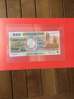 $50 Commemorative Polymer w folder