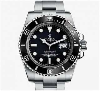 全新港行Rolex Submariner Date 116610LN 黑水鬼