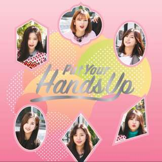 [Preorder] Apink Put Your Hands Up DVD
