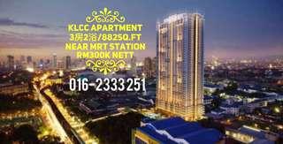 KLCC New Apartment RM300k nett