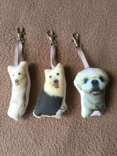 Customised furkids keychain