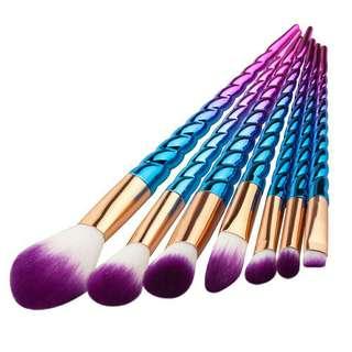 Unicorn Inspired Brushes
