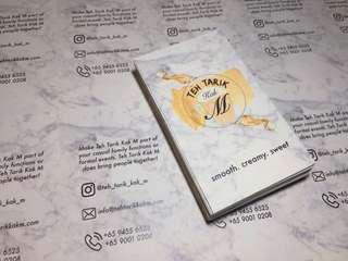 Digital instant print Namecard