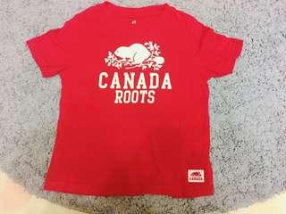 🚚 Roots 極新無洗白上衣~