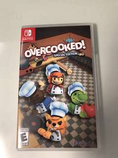 全新Switch overcooked new