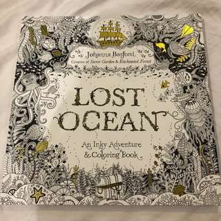 Lost ocean johanna basford adult coloring book