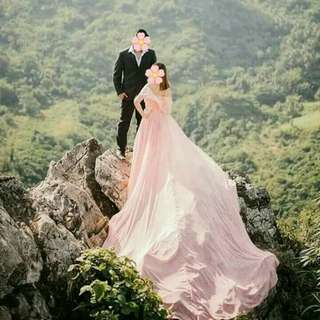 FOR RENT Prenup Gown - Long Trail