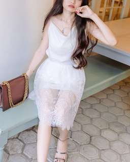 White Lace sets ( include top & skirt )