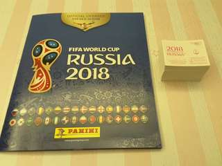 Panini Russia World Cup 2018 Official Sticker