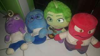 inside out plushies