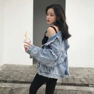 Korea Style Jeans Jacket